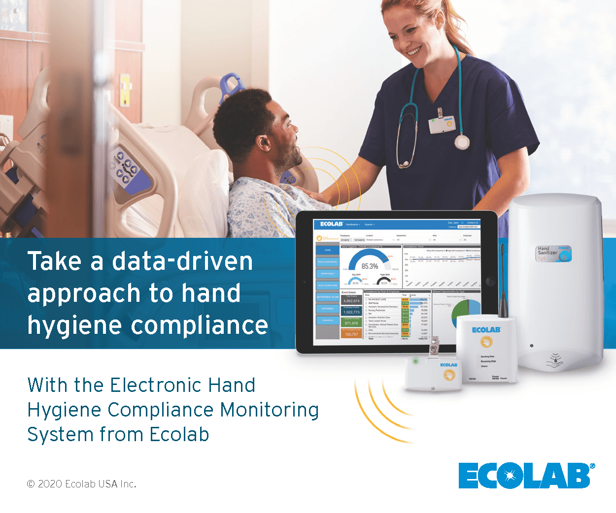 Take a data-driven approach to hand hygiene compliance