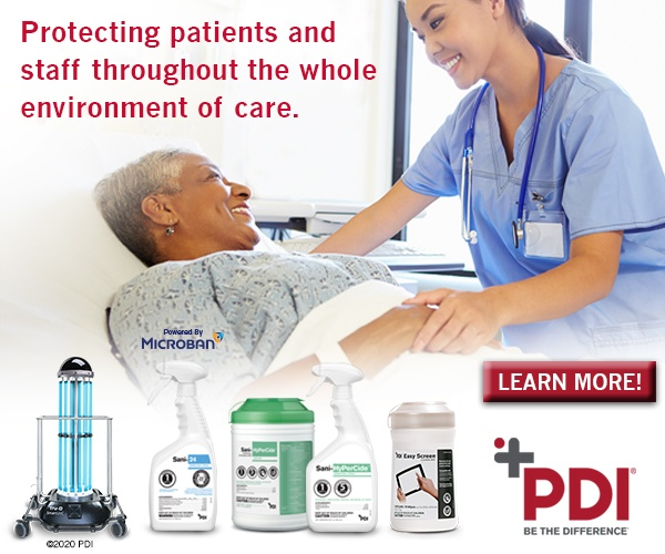 PDI - Protecting patients and staff throughout the whole environment of care.
